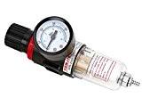 '1/4Air Comprimé Séparateur d'eau régulateur de pression pour compresseur Druckregler composants pneumatique Filtre régulateur de gaz Processeur