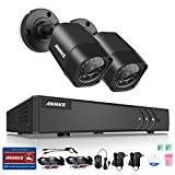 [1280*720P] ANNKE® AHD 4CH 720P 1200TVL DVR 2 Caméras Weatherproof 720P 1.0 megaxiels AHD Caméra Haute Résolution 100ft Vision Nocturne ...