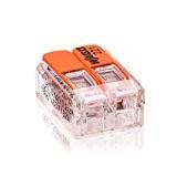 221–412WAGO Pince Boîte Pince levier Pince avec levier de commande 2fils 1000pièces