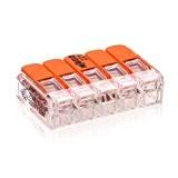 221–415WAGO Pince Boîte Pince levier Pince avec levier de commande 5fils Lot de 10