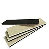 4-Pack 22,9x 6,3cm réutilisables rectangle Slider pour bois Pour Sol, Heavy Furniture Movers pour sol en vinyle, feutre Slider, Heavy ...