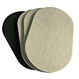 4-Pack 9,5in. X 5–3/4en. Premium ovale Heavy Furniture Movers pour bois Pour Sol, feutre Slider, Heavy Duty curseurs de feutre, ...