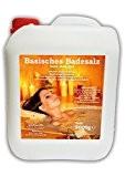 5000 g Alkaline sel de bain Spa détente verre décoratif 5kg dans cartouche