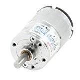 50RPM 12VDC 2P 6mm Diamètre boîte électrique à 2broches moteur