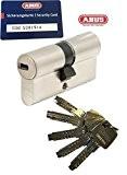 Abus ec660Profil Double cylindre Longueur (A/B) 35/35mm (C = 70mm) avec 5clés, avec carte de sécurité