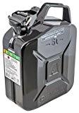 Arnold métal-bidon à essence noir 5 l, 1–2000 6011–x