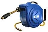 As-Schwabe 880221 Enrouleur tuyau air comprimé automatique professionnel 10 m