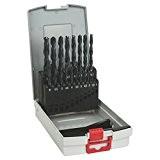 Bosch 2608587012 Assortiment ProBox de 19 forets à métaux laminé HSS-R DIN 338