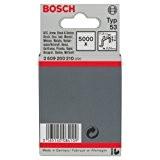 Bosch 2609200210 Agrafe à fil fin de type 53 11,4 x 0,74 x 8 mm, 5000 pièces