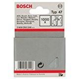 Bosch 2609200249 Clou type 47 1,8 x 1,27 x 30 mm, 1000 pièces