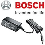 Bosch Genuine battery charger (to fit: de Bosch Isio 2Garden Shrub/Grass/EDGING Shears, Bosch PTK 3,6V-Li Agrafeuse & Bosch PSR Select ...