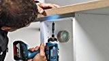 Bosch Perceuse-visseuse sans fil GSR 18V-EC Fc2Flexi Click Lot de 2batteries 5,0Ah L-Boxx