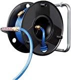 Brennenstuhl 1127010 Enrouleur Anti Twist de tuyau à air comprimé de 20 m, diamètre du tuyau 6/12 mm