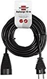 Brennenstuhl 1165461 Rallonge électrique 10 m H05VV-F 3G1,5 Noir