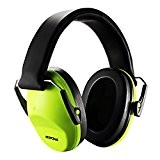 Casque antibruit Mpow Enfant Cache-Oreilles Réduction de bruit, Certifié par ANSI S3.19Pliable, assurer NRR25dB pour la réduction du bruit,Portable et ...