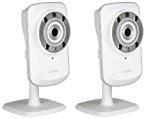 D-Link DCS-932L Pack de 2 Caméras IP Jour/Nuit WiFi N mydlink Ethernet Wifi Blanc