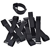 eBoot Attaches de Câble / Câbles Ties 10 Pack 300 mm x 25 mm (Noir)