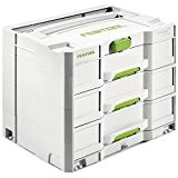 Festool SYS 4 tl-sort/3 Systainer Boîte