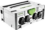 Festool Systainer 101184310 SYS Power Hub IP44 avec 5 prises 396 x 296 x 157,5 mm, 1 pièce, 101184310