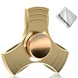 First2savvv Spinner Fidget Jouet Tri Fidget Hand Spinner Pour Adultes Enfant(1 - 3 minutes de spin) + Chiffon de nettoyage ...