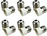 Firstmall Lot de 12 E27 à E14 Ampoule LED Base Convertisseur Convertisseur Adaptateur Support Lampe Économiseur D'Énergie (12)