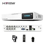 H. vue vidéosurveillance 8canaux HDMI 1080N AHD de surveillance DVR, 8CH Home Système de sécurité DVR Support Android, iPhone, visionnage ...
