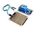 Haoyishang DC 12V Eau de pluie Sensor module de relais + module de commande pour Arduino robot kit