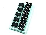 Just-Honest - Pièces/pcs. 5 x NE 555 P avec/with DIP8 Boîtier/Socket TIMER IC #A746