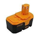 KINSUN Replacement Power Tool Batterie 18V Ni-MH 3000mAh pour Ryobi Perceuse sans fil Impact Driver 130224028,130224007,130255004,ABP1801,ABP1803,BCP1817/2SM,BPP-1813,BPP-1815,BPP-1817,BPP-1817/2,BPP-