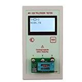 KKmoon Transistor testeur Portable MK328 128 * 64 LCD Diode Inductance capacité ESR Meter MOS/PNP/NPN l/c/R essais