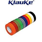 Klauke - 10 Ruban Isolant PVC usage courant Panaché