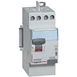 Legrand LEG411617 Interrupteur différentiel dx-id Vis/Vis 2P 230 V 40 A Type A 30 mA départ haut- 2 m