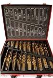 Lot de 202 forets de cobalt (HSS-Co/inox) MétalHSS –conçu pour acier inoxydable