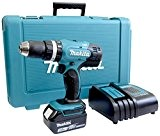 Makita DHP453SF Perceuse visseuse à percussion Bleu