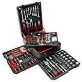 Parker - Coffret outils de 399 pièces, set pour tournevis à douilles, divers tournevis + autres outils pour bricolage