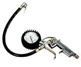 Pistolet Air Comprimé Outil Pour Compresseur Gonfleur Velo Auto Moto avec Manometre