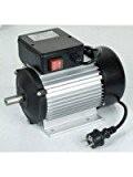 Ribitech Moteur électrique monophasé 2 cv 2750 Tr/min