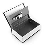 Secret Dictionnaire Livre Fort Coffre-fort livre Cash Box Verrouillage Argent Voyage De Sécurité