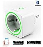 SmartPlug - prise intelligente pilotable et programmable Connectée Bluetooth 4 interrupteur sans fil - compteur - programmateur - Domotique contrôle ...