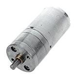 SODIAL(R) 12V DC 100RPM Haute torsion boite de vitesse Moteur electrique 25mm