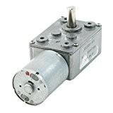 SODIAL(R) 3500/2RPM Sortie Vitesse de rotation 2 Pin 6mm arbre motoreducteur 12V Volts