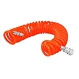 SODIAL(R) Tuyau en spirale pneumatique flexible PU pour compresseur d'air 6M 19.7ft 8mm x 5mm