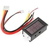 SODIAL(R) Voltmetre amperemetre voltmetre numerique LED multimetre Appareil de tableau 0-100Vue0A