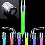 soledi robinets d'évier de salle de bain LED robinet d'eau