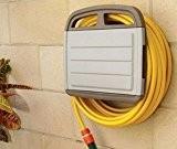 Tec Hit 390245 Support mural pour tuyau d'arrosage avec Armoire Rangement pour tube de 45 m