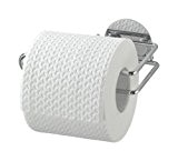 Wenko 18774100 Turbo-Loc Porte Papier WC Chrome
