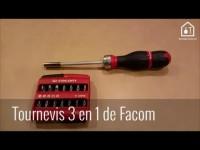 Outillage : démo du tournevis à cliquet de Facom